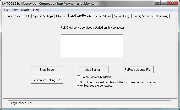 LANDXPERT Installation Network until version 2017 [DATAflor]
