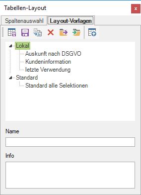 Programmbedienung Dataflor