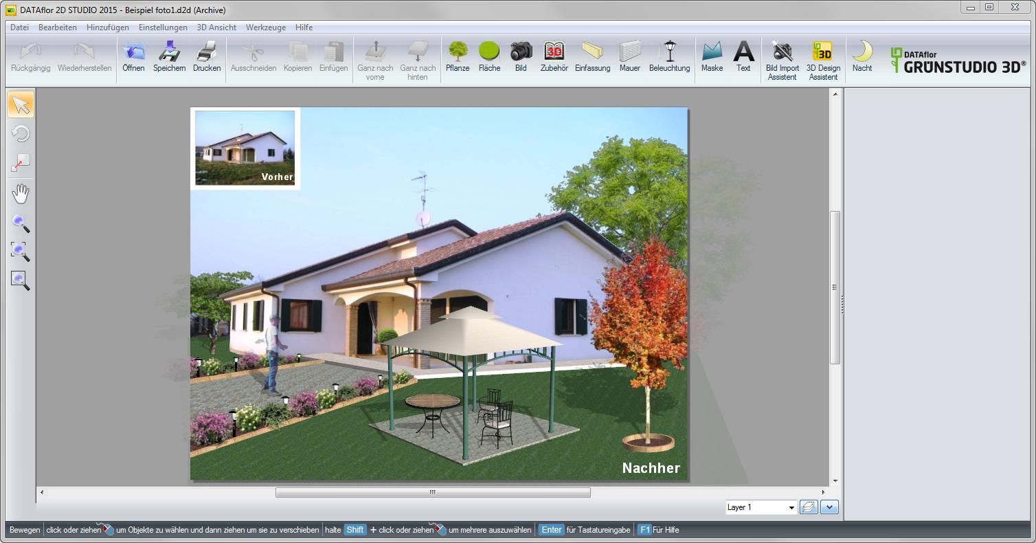 Haus Designen einleitung dataflor